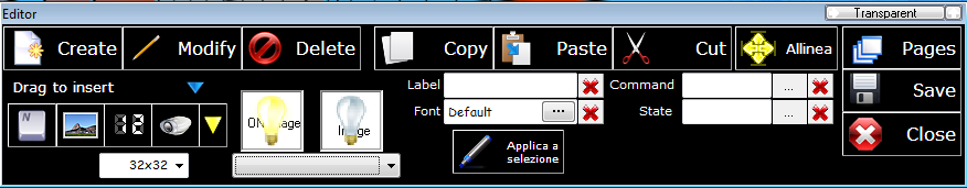 Graphical Editor
